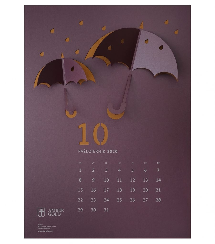 50 оригинальных дизайнов календарей. 100 фото