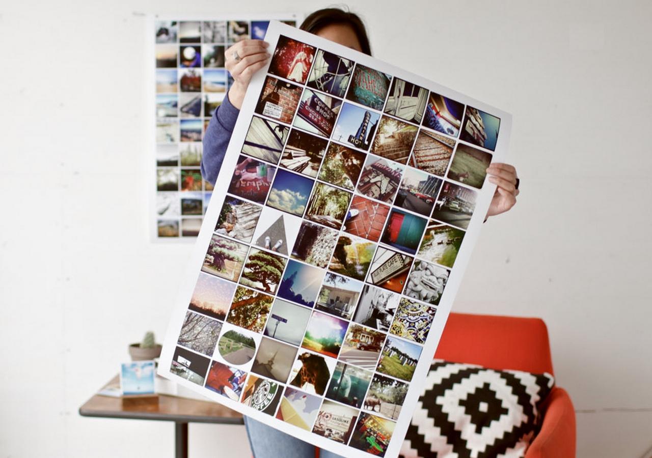 как разместить картинки из инстаграмма вылиты