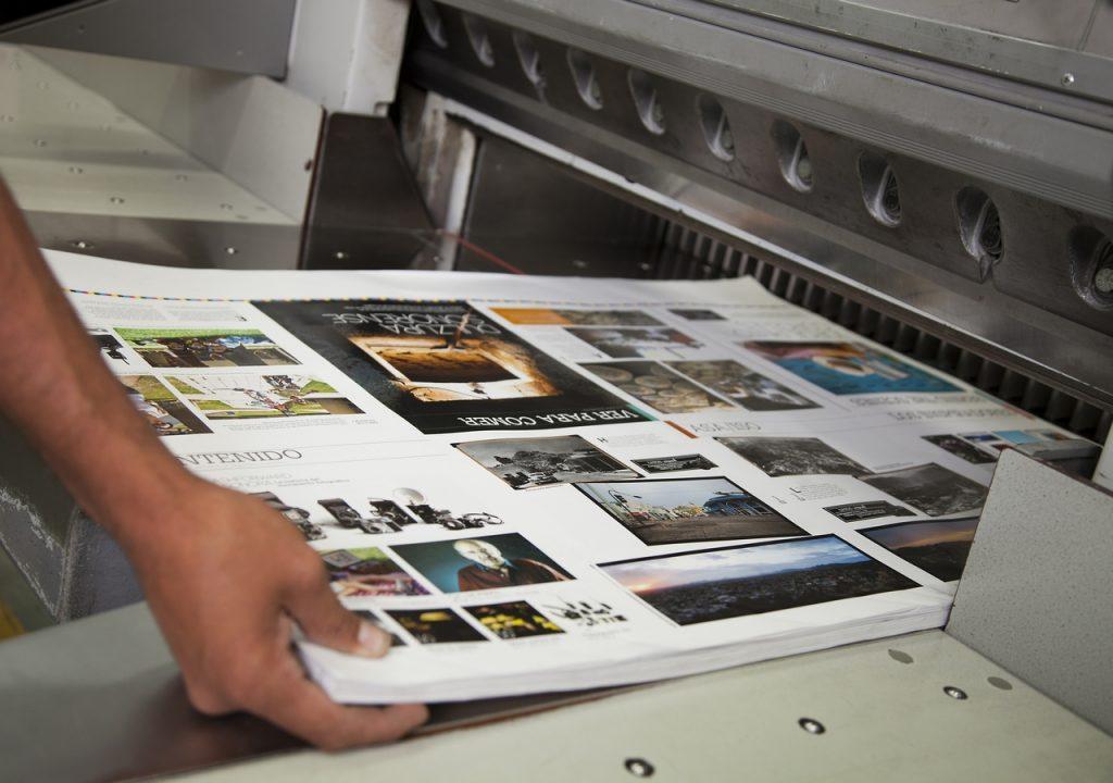 Виды и способы печати в полиграфии
