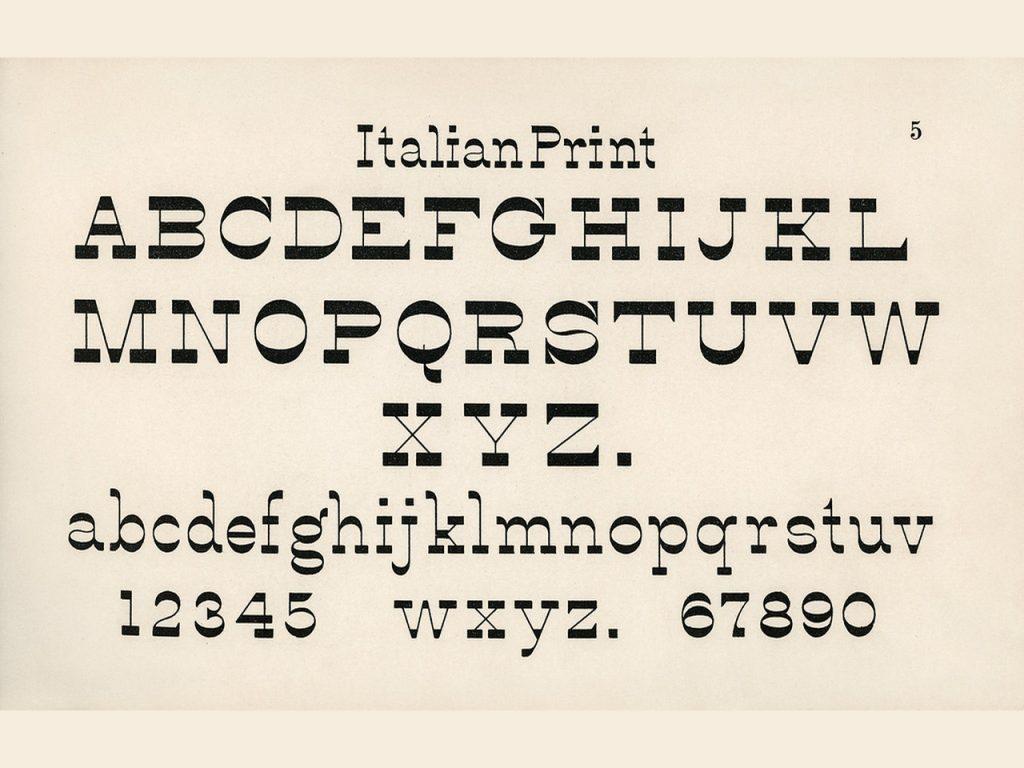 Виды, характеристики, классификация и применение шрифтов